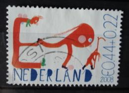 2008 Netherlands Child Welfare,kinderzegels Used/gebruikt/oblitere - Periode 1980-... (Beatrix)