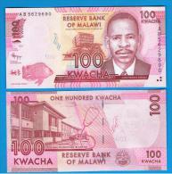 MALAWI -  100 Kwacha  2012 SC - Malawi