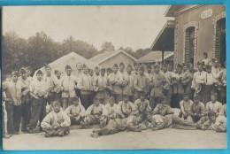C.P.A. Groupe De Militaires - Weltkrieg 1914-18