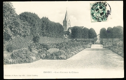 95 ENNERY / Cour D'Honneur Du Château / - Ennery