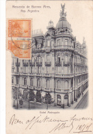 22035 Thomazi - Hotel Metropole -Recuerdo Buenos Aires, Argentina  -avanzi Foto .  - Heidelberg