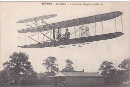 22036 SPORTS AVIATION L'AEROPLANE WRIGHT EN PLEIN VOL  -ELD - ....-1914: Précurseurs