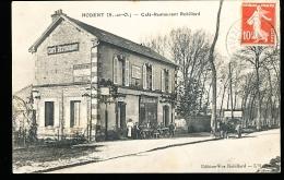 95 HODENT / Café Restaurant Robillard / - Autres Communes
