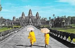 Asie > Cambodge CAMBODIA ANGKOR WAT Seen Trought The Main Entrance *PRIX FIXE - Cambogia