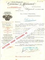 Lettre 1940 SOIGNIES - CARRIERES DU HAINAUT - Exploitation De La Pierre Bleue Dite Petit Granit - Unclassified