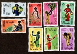 SOMALIA..1961..Michel # 16-23...MNH. - Somalia (1960-...)