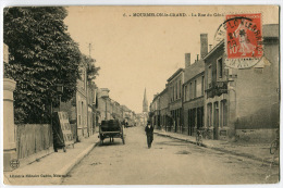 MOURMELON Le GRAND La Rue Du Génie Charrette - Mourmelon Le Grand