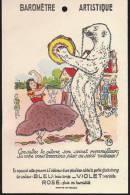 CARTE BAROMETRE ARTISTIQUE Consultez La Gitane Sont Secret Merveilleux Sa Robe Vous Annoncera Pluie Ou Soleil Radieux ! - Fantasie