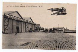 Cpa - Cazaux Lac (Gironde) - Ecole D'aviation - Flugwesen