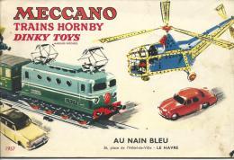 Catalogue Meccano Hornby Dinky Toys 1957 - Echelle O