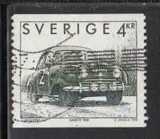 Sweden Used Scott #1973 4k Saab 92 - 1950s Automobiles - Suède