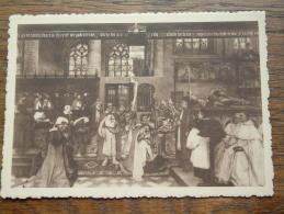 Wandschildering Op Het Stadhuis Te Hoogstraeten Door Meester Karel BOOM - Anno 19?? ( Zie/voir Foto Voor Details ) !! - Hoogstraten
