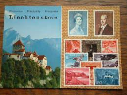 Briefmarken Und Castle Vaduz LIECHTENSTEIN - Anno 19?? ( Zie/voir Foto Voor Details ) !! - Liechtenstein