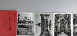 Stift Melk An Der Donau 12 Photos Noir Et Blanc De 9 Cm Sur 7cm - Albums & Collections