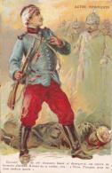 CPA. PATRIOTIQUE. Uniforme  Voyant Avec Le Pantalon Rouge  Garance. Fusil Lebel. GUERRE 1914-1918 - Patriotic