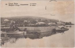 """AK - Belgisch-Kongo """"Leopoldsville"""" Les Bassins 1922 - Belgisch-Kongo - Sonstige"""