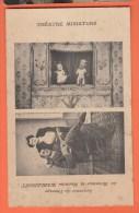 Théâtre Miniature Monsieur Et Madame Warlemont Marionnettes - Teatro