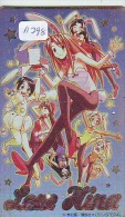 Télécarte Japon * MANGA * LOVE HINA * ANIMATE * ANIME Japan Phonecard (11.298) TK * Cinema * Film - Film