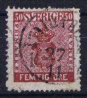 Sweden: 1858 Mi Nr 12 B , Used, Facit 12 , - Sweden