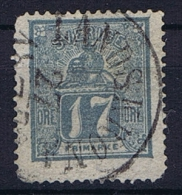 Sweden: 1866 Mi Nr 15 B  GREY , Used, Facit 15