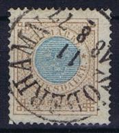 Sweden: 1872 Mi Nr 26 A Karmin  , Used, Facit 27, Perforation 14