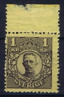 Sweden: 1911 Mi Nr 62 WM 1 , MNH/** , Facit 77 - Neufs