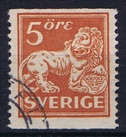 Sweden: 1921 Mi Nr 174 I WA, Perfo 13 No Watermark   Used - Gebruikt