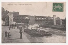REDON - Le Pont Du Chemin De Fer - Redon
