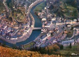 Belgique..La Roche-en-Ardenne..belle Vue Aérienne Du Village
