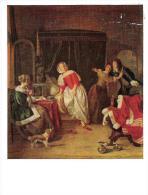 US56 - NATIONAL GALLERY OF ART: Gabriel Metsu (1629-1667) The Intruder - United States