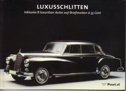 Markenbuch - Luxusschlitten - Austro-Daimler-Hispano Suiza-Bugatti-Rolls Royce-Mercedes-GAZ Tschaika-Cadillac-Maserati - Automobili