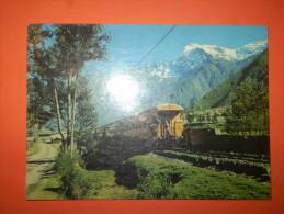 A2233 Peru' Treno Di Turisti Per Machupicchu - Perù