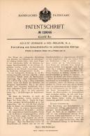 Original Patentschrift - A. Lehmann In Neu Welzow , N.-L., 1901 , Schwimmendes Gebirge , Bergbau , Tagebau !!! - Historische Dokumente