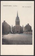 CPA -  BELGIQUE ,  RANSART - BOIS,  La Place - Charleroi