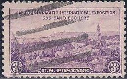 USA / États-Unis  1935  #  773   ( California Pacific Exposition ) - Oblitérés