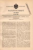Original Patentschrift - O. Strenge In Elisabethfehn B. Barßel , 1901 , Torf - Schneidemaschine !!! - Maschinen