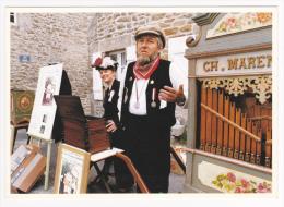 Yvon Kervinio - Festival International De Musique Mécanique - Ile-Tudy (29) - 1990 - Gérard Et Monique Boquié - Künstlerkarten