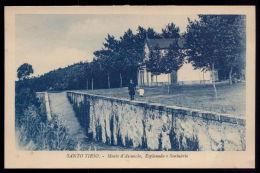 SANTO TIRSO / PORTO / PORTUGAL Postal Monte Da Assunção, Esplanada E Santuário. Old Postcard - Porto