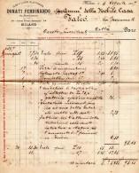 1899  FATTURA -  MILANO - SERVIZIO GENERALE DI TRASPORTI - Italia