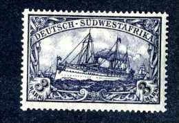 1082e  GSWA 1906  Mi.#31Bb Mint* Signed  ~Offers Welcome! - Kolonie: Deutsch-Südwestafrika