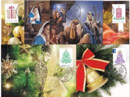 Australia 2013 Christmas Set Of 6 Maximum Cards - Cartoline Maximum