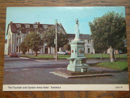 The Fountain And GORDON ARMS Hotel TOMINTOUL / Anno 19?? ( Zie Foto´s Voor Details ) !! - Hotels & Restaurants