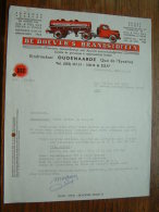 DE BOEVERS's Brandstoffen Oudenaarde / Pol Madou Gent !! Offerte Anno 1968 ( Zie Foto´s ) ! - Facturas & Documentos Mercantiles