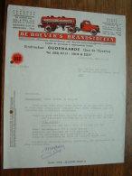 DE BOEVERS's Brandstoffen Oudenaarde / Pol Madou Gent !! Offerte Anno 1968 ( Zie Foto´s ) ! - Factures & Documents Commerciaux