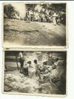 2 Photos à SORMIOU Des Camarades De L´Institut Régional Des Sourds-Muets Et Jeunes Aveugles De MARSEILLE, 2/7/1943, - Photos