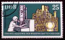 A07-25-5) DDR - Michel 2061 / 2064 - OO Gestempelt (A) - 25Pf 275 J. Akademie Der Wissenschaften - Oblitérés