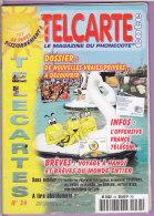 TELCARTE   °   Catalogue  N°  34   °   Aout  Sept  1999 -  68 Pages.  T  B  E - Télécartes