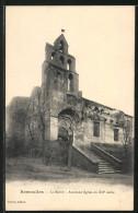 CPA Remoulins, La Mairie, Ancienne Eglise Du XIIe Siecle - Remoulins