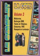 COTE  En  Poche  2002  Le  Complet  -  V 3    98  Pages   T  B  E   -   Quelques  Marques - Télécartes
