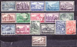 Grecia 1961-Turistica -Serie Completa Usata - Usati